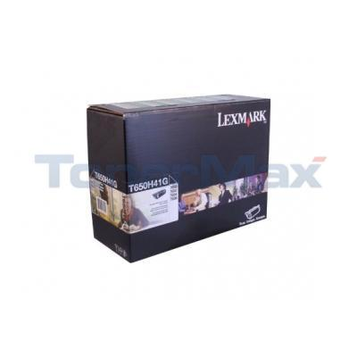 LEXMARK T650 T652 TONER CART BLACK RP 25K